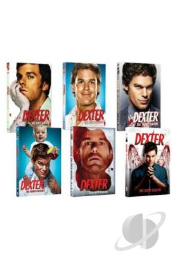 Dexter: Seasons 1-6 DVD Cover Art