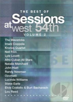 Best Of Sessions At West 54TH Vol. 2 DVD Cover Art