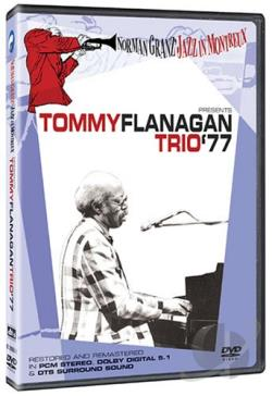 Norman Granz' Jazz in Montreux - Tommy Flanagan Trio '77 DVD Cover Art