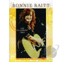 Bonnie Raitt: Live in Germany 1992 DVD Cover Art