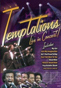 Temptations Live in Concert DVD Cover Art
