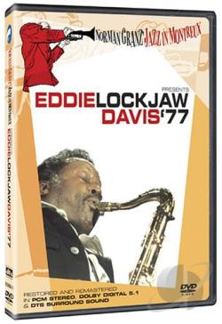 Norman Granz' Jazz in Montreux - Eddie Lockjaw Davis '77 DVD Cover Art