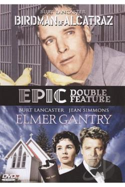Birdman of Alcatraz/Elmer Gantry DVD Cover Art