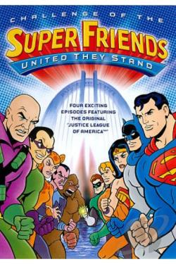 Challenge of the SuperFriends - United They Stand DVD Cover Art