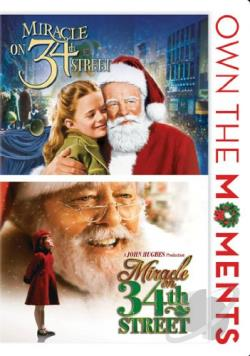 Miracle on 34th Street (1947)/Miracle on 34th Street (1994) DVD Cover Art