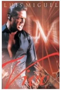 Luis Miguel: Vivo DVD Cover Art