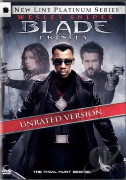 Blade: Trinity DVD Cover Art