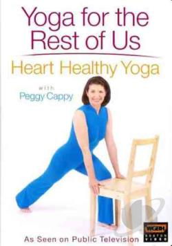 Yoga for the Rest of Us - Heart Healthy Yoga DVD Cover Art
