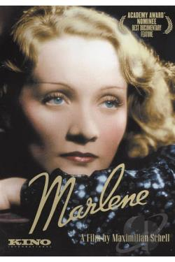 Marlene DVD Cover Art
