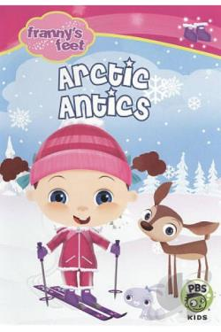 Franny's Feet: Artic Antics DVD Cover Art