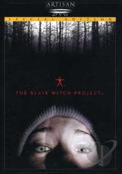 Blair Witch Project DVD Cover Art