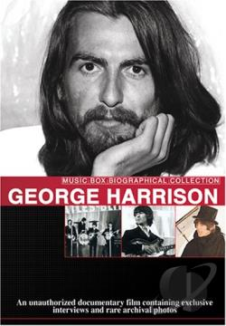 George Harrison - Music Video Box DVD Cover Art