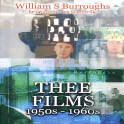 William S. Burroughs: Three Films 1950s-1960s DVD Cover Art