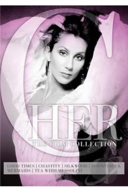 Cher: The Film Collection DVD Cover Art