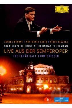 Live aus der Semperoper: The Lehar Gala from Dresden DVD Cover Art