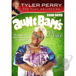 Tyler Perry's Aunt Bam's Place DVD Cover Art