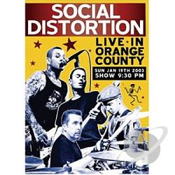 Social Distortion - Live in Orange County DVD Cover Art