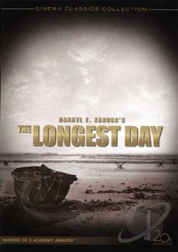 Longest Day DVD Cover Art