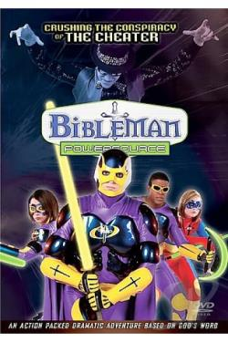 Bibleman Powersource - Crushing The Conspiracies Of The Cheater DVD Cover Art