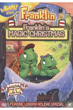 Franklin's Magic Christmas DVD Cover Art