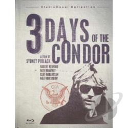 Three Days of the Condor BRAY Cover Art