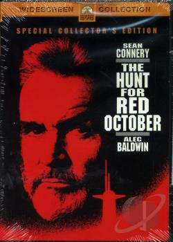 Hunt for Red October DVD Cover Art
