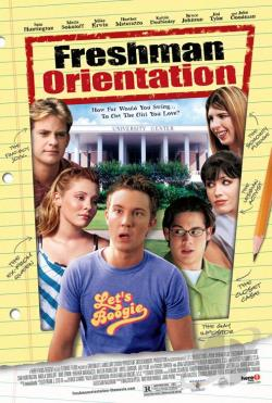 Freshman Orientation DVD Cover Art