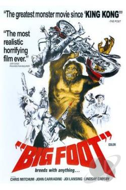 Big Foot DVD Cover Art
