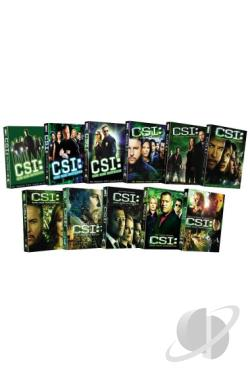CSI: Crime Scene Investigation - Seasons 1-11 DVD Cover Art
