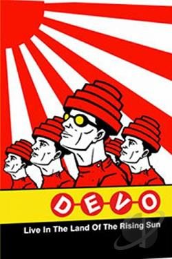 Devo - Live In The Land of the Rising Sun: Japan 2003 DVD Cover Art