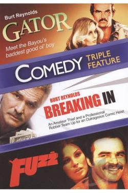 Gator/Breaking In/Fuzz DVD Cover Art