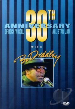 Bo Diddley And The All Star Jam Show DVD Cover Art