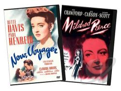 Now, Voyager / Mildred Pierce DVD Cover Art