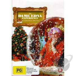 Dame Edna Experience-The Christmas Specials DVD Cover Art