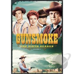 Gunsmoke: The Sixth Season, Vol. 1 DVD Cover Art