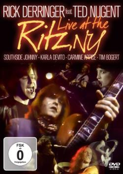 Rick Derringer Featuring Ted Nugent: Live at The Ritz, NY DVD Cover Art