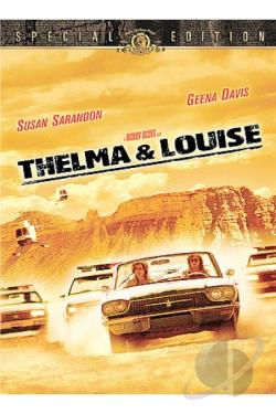 Thelma & Louise DVD Cover Art