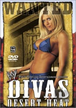 WWE - Divas Desert Heat DVD Cover Art