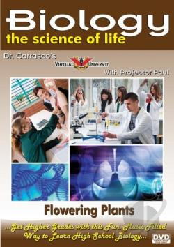 Biology: The Science of Life - Flowering Plants DVD Cover Art