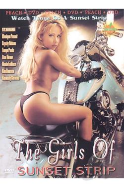 Girls of Sunset Strip DVD Cover Art