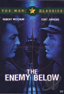 Enemy Below DVD Cover Art