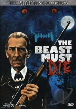 Beast Must Die! DVD Cover Art