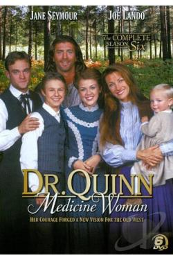 Dr. Quinn, Medicine Woman - The Complete Season 6 DVD Cover Art