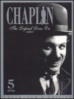 Chaplin:The Legend Lives On - 5 Disc Set DVD Cover Art
