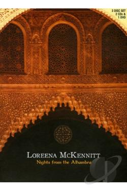 Loreena McKennitt - Nights from the Alhambra DVD Cover Art