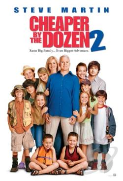 Cheaper By the Dozen 2 DVD Cover Art