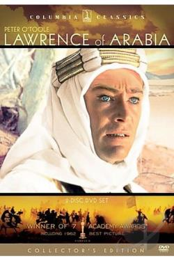 Lawrence of Arabia DVD Cover Art