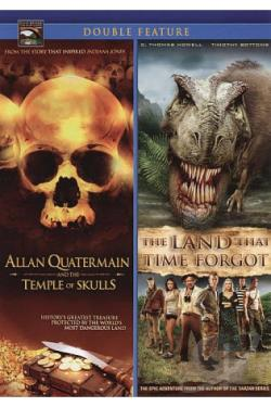 Allan Quatermain and the Temple of Skulls/The Land That Time Forgot DVD Cover Art