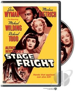 Stage Fright DVD Cover Art