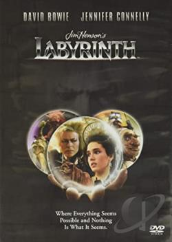 Labyrinth DVD Cover Art